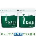 キューサイ青汁 乳� 菌プラス 420g 約30日分 (ザ・ケール+乳� 菌) 粉末タイプ 2袋まとめ買い
