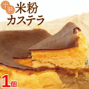 ショッピングスイーツ 【送料無料】 半熟カステラ 米粉 ロハスランド 国産 約180g