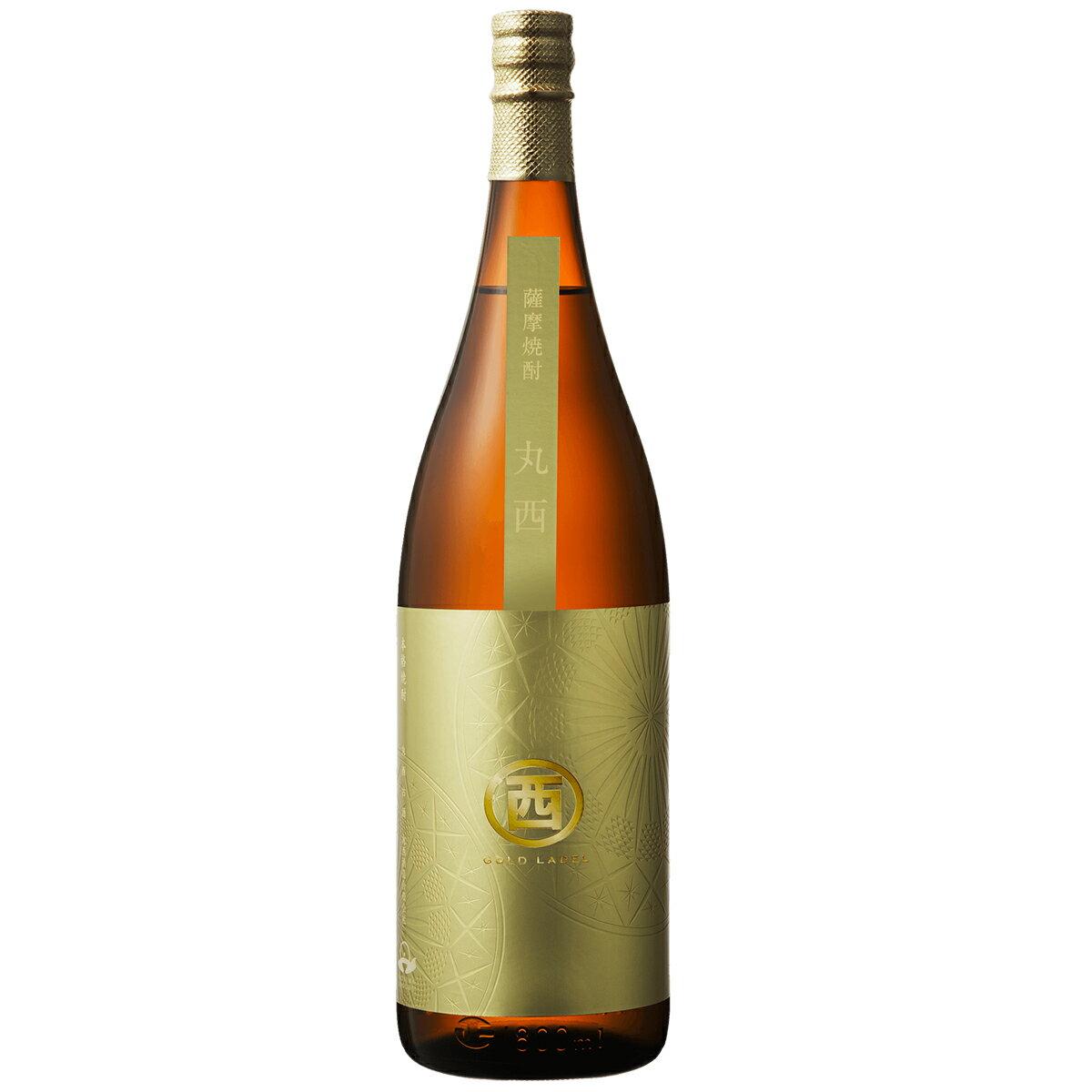 まるにしゴールドラベル 1800ml【RPC】 丸西酒造