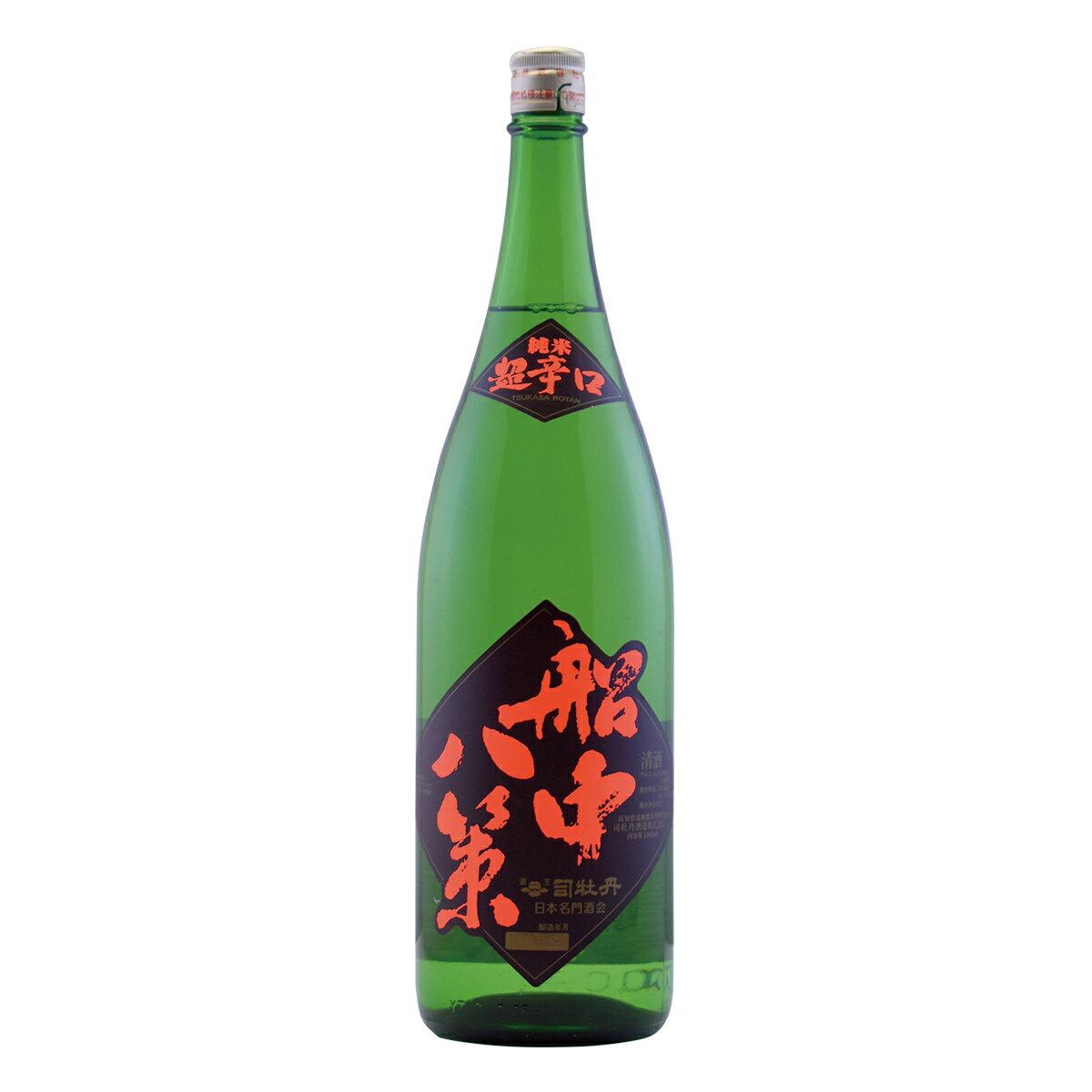 司牡丹 船中八策 1800ml 純米酒
