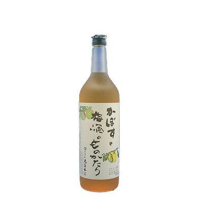 かぼすと梅酒のものがたり12°720ml【RCP】