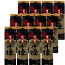 ショッピングさい 本格芋焼酎 さつま木挽(黒麹)25度1800mlパック2ケース(12本)