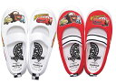 Kids [slippers] cars DN05 white11211691 red2 14.0-19.0cm [Disneyzone]