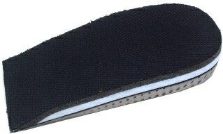 【中敷き】【あげぞこ】ブーツ用クッション材 カカトフィットアップ2.5センチ【インソール】【シークレットヒール】