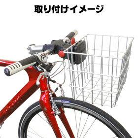 自転車の 自転車 前かご 取り付け方 : ... 自転車用前かご前カゴお買物に