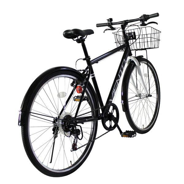 自転車の 通勤用自転車 おすすめ クロスバイク : ワン VIENTO シティクロスバイク ...