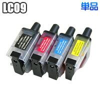 LC09【単品】ブラザー互換インクLC09BKLC09CLC09MLC09YbrotherMFC-840830820620615610425410DCP-115110MFC-5840CNインクカートリッジプリンターインク