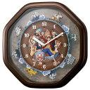 リズム時計工業【シチズン】ワンピースからくり時計 4MH880-M06★壁掛け時計 【4MH880M06】