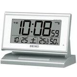 セイコー【SEIKO】電波デジタル時計 自動点灯タイプ★置き時計【SQ768S】