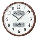 セイコー【特別特価】SEIKO 電波スタンダード掛時計(液晶表示つき) KX383B★【KX-383B】
