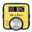 ショットナビ【超小型・軽量】GPSゴルフナビゲーションShot Navi V1イエロー★【ShotNaviV1-Y】