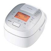 東芝【TOSHIBA】5.5合 IHジャー炊飯器 RC-10VSK-W(グランホワイト)★【RC10VSK】
