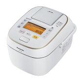 パナソニック【Panasonic】可変圧力IHジャー炊飯器 SR-PW106-W★【SRPW106】