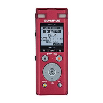 オリンパス【OLYMPUS】4GB ICレコーダー Voice-Trek DM-720-RED(レッド)★【DM-720】