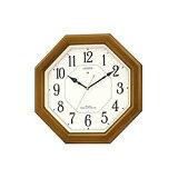 リズム時計工業【シチズン】ネムリーナルック★電波掛時計【4MY645-006】