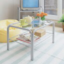 ガラステーブルSIG-603 アイリスオーヤマ(ダイニングテーブル・デスク 机・家具・リビング ダイニング・一人暮らしに)