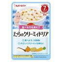 キユーピー ハッピーレシピ たらのクリーミィドリア離乳食 ベビーフード 幼児食 ベビー用品
