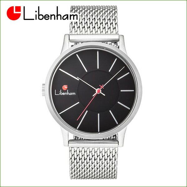 Libenham公式 LH90036-02(Night-Black) [リベンハム新ラントシャフトシリーズ/Fielder掲載/腕時計/黒/ブラック]