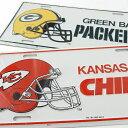 アメリカンフットボール、ライセンスプレート(新品、NFL)