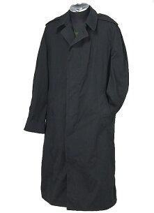 ブラックステンカラーコート
