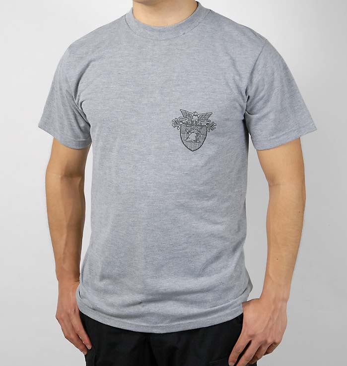 US.グレー、ウエストポイントTシャツ(新品)