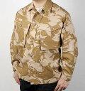 イギリス、デザートカモ、コンバットジャケット(新品)B41N
