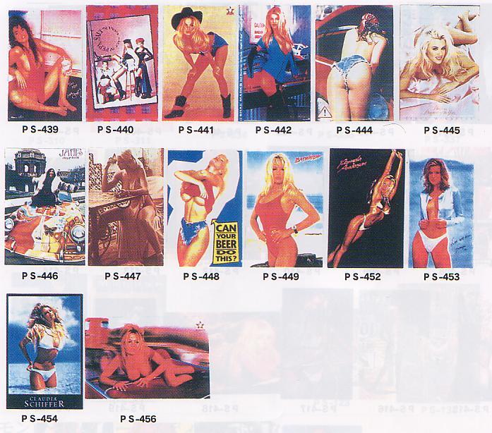 超特価、アメリカンセクシーガールポスター(新品)5枚セット