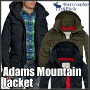 アバクロンビー&フィッチ 正規 アバクロ Abercrombie&Fitch メンズ ミリタリージャケット:Adams Mountain Jacket≪送料無料≫