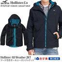 ホリスター Hollister 正規品 メンズ アウター ナイロンジャケット ウィンドブレーカー ナイロンジャケット:The Hollister All-Weather Jacket - Navy