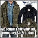 アバクロンビー&フィッチ 正規 アバクロ Abercrombie&Fitch メンズ ミリタリージャケット:Noonmark Shirt Jacket/Meachum Lake Shirt Jacket≪送料無料≫