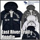 アバクロンビー&フィッチ 正規 アバクロ Abercrombie&Fitch メンズ メンズ ジップアップ パーカー:East River Trail Hoodie《3色》