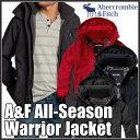アバクロンビー&フィッチ 正規 アバクロ Abercrombie&Fitch メンズ ジャケット フード付ジャケット:A&F All-Season Weather Warrior Jacket≪送料無料≫