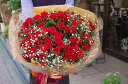 バラの花束【送料無料】真っ赤なバラ100本 花束【楽ギフ_メッセ入力】 ギフト プレゼント 誕生日 クリスマスに10P01Oct16