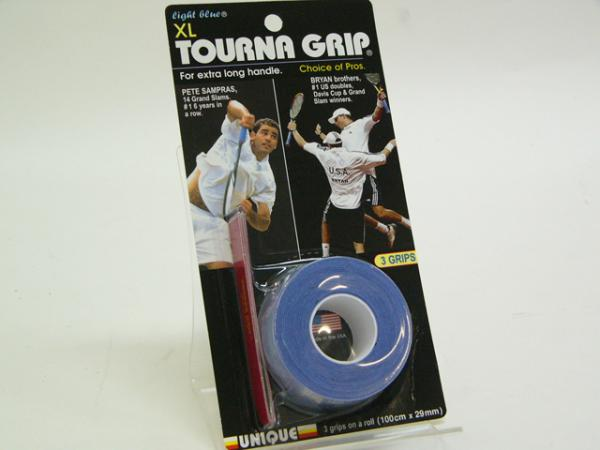【よりどり5個で送料無料】TOURNA(トーナ)GRIP ORGINAL XL ドライタイプオーバーグリップ 3巻き入りTG-1-XL●●