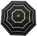 【よりどり5個で送料無料】ユニセックス晴雨兼用 ビッグボーダー65cm ジャンプ傘ブラックNB-630B-BK【18☆】【紳士傘】【晴雨兼用傘】