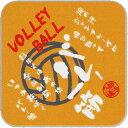 【よりどり20個で送料無料】部活魂 BUKATSU DAMASHIIインクジェット ミニタオルバレーボールオレンジ6412-OR【定番】●●
