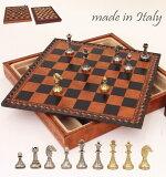 【レビューを書くと 】イタリア製チェス&ボックス付チェスボードstaunton ミニヨン・フィオリート2タイプ展開 ミニサイズ65M●●