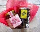 『北欧紅茶30gミニリフィル』+『ダマスクローズぺタル(バラの花びら)ジャム』箱入りギフト