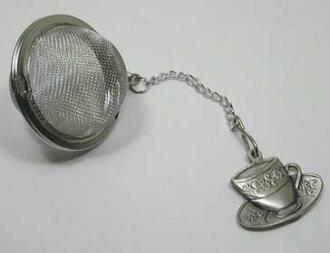 茶杯茶輸液器茶濾網-茶葉中的網格部分,可用茶葉篩檢程式等。