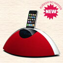 曲線が美しいスタイリッシュデザインを採用!予約販売 TEAC iPod/iPhone対応サウンドシステムRhythm Arc mini SR-80i-R(リズムアーク・ミニ) 【smtb-TD】【saitama】 【送料無料】