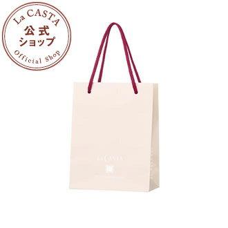ラカスタ オリジナル ペーパーバッグ 【小】【ラ・カスタ lacasta ショッパー アルペンローゼ】