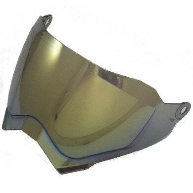 Void(ボイド)オフロードヘルメットTX-27用ミラーゴールドシールドTHH