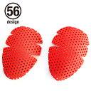 レディースバイク用品 バイク用 56design ニーパッド プロテクター 膝 56デザイン オプション