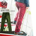 56design×EDWINコラボ レディース バイク カーゴパンツ ファブリック 056 Rider Cargo Pants CORDURA バイク用 バイクウェア ライディング ツーリング 街乗り 女性 おしゃれ カラー クリアランスセール