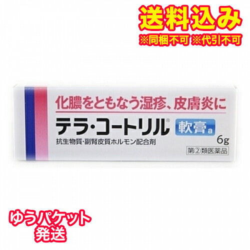 【DM便送料込み】【第(2)類医薬品】テラコートリル軟膏a 6g
