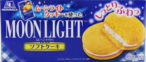森永 ムーンライト ソフトケーキ 6個入り×6個