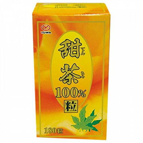 ユーワ甜茶100%180粒×2個※取り寄せ商品(注文確定後6-20日頂きます)返品不可