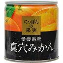 K&K にっぽんの果実 愛媛県産 真穴みかん 190g※取り寄せ商品(注文確定後6-20日頂きます) 返品不可