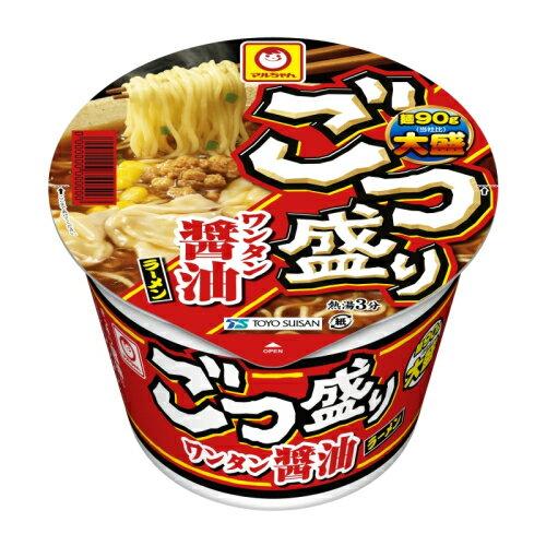 マルちゃん ごつ盛りワンタン醤油ラーメン 117g×12個