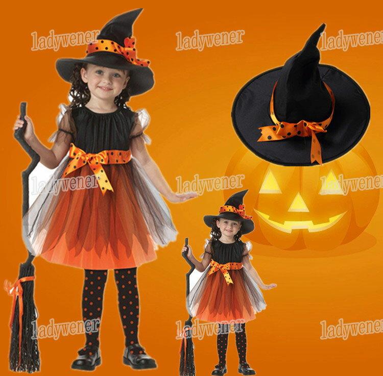 子供衣 ハロウィン コスプレ 子供ドレス ワンピース Halloween 演出服 お姫様 …...:ladywener:10001080